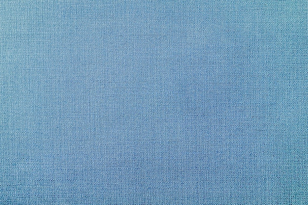 Blue woven fabric background Free Photo
