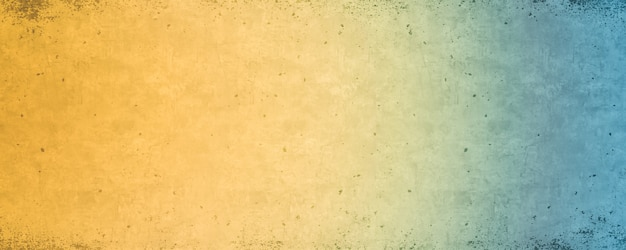 Blue and yellow gradient, bright colorful background texture Premium Photo