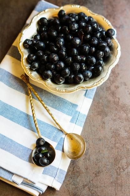 Blueberries Premium Photo
