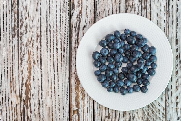 Blueberry dish Free Photo