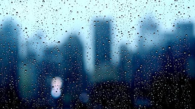Blur blue background Premium Photo