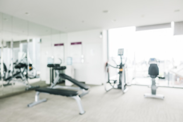Blur gym and fitness Free Photo