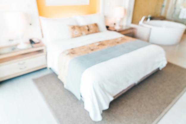 Blur hotel room Free Photo