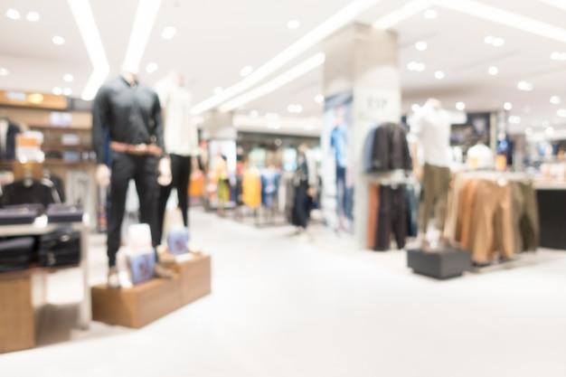 Blur shopping mall Free Photo