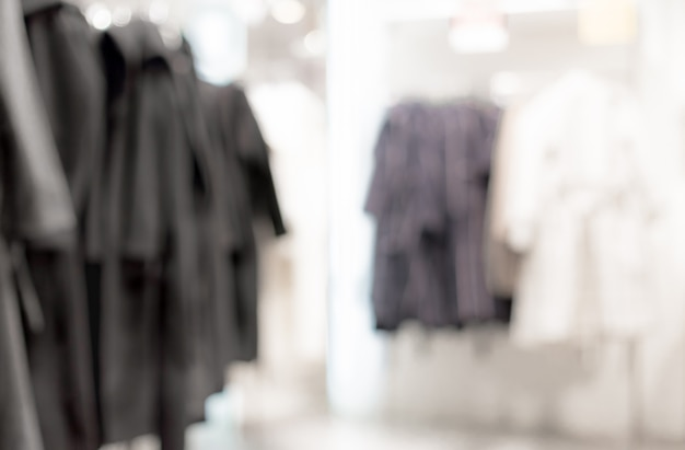 Blurred background - clothing store Free Photo
