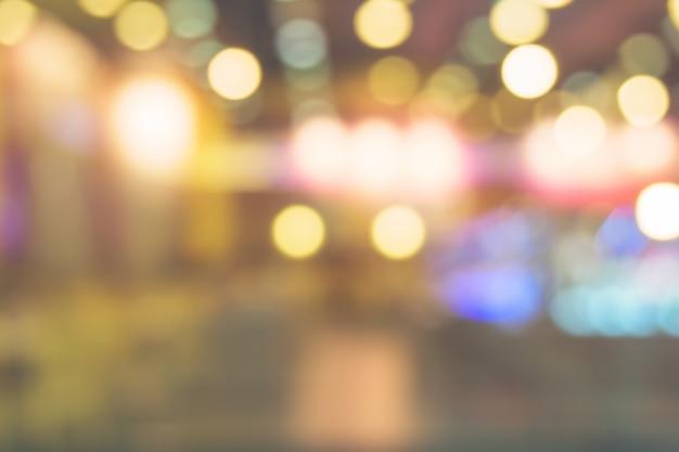 Blurred Coffee Shop Background