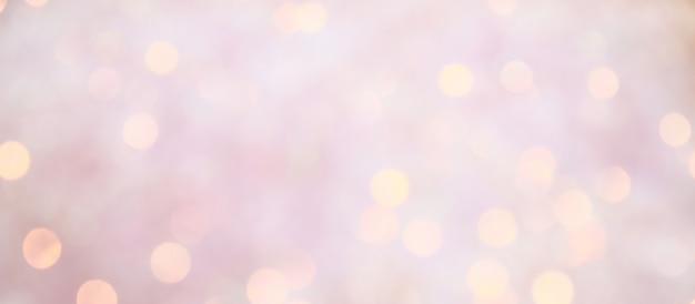 Blurred bokeh. holiday glowing background Premium Photo