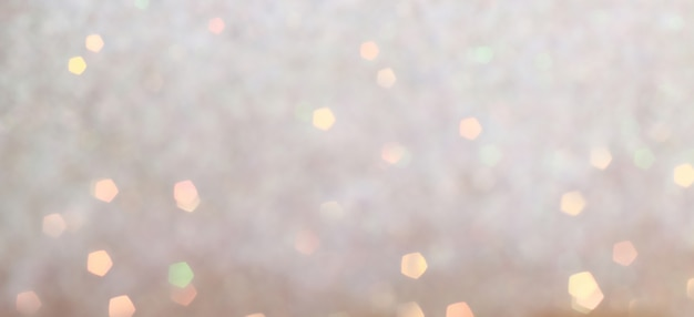 Blurred bokeh. holiday glowing background. Premium Photo