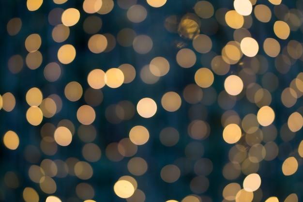 Blurred bokeh lights Premium Photo