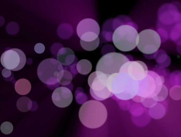 Blurred colourful lights at the Premium Photo
