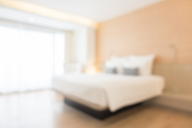 Blurred Double Bed Photo Free Download