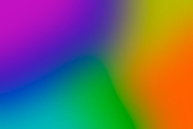 鮮やかな原色のぼやけたグラデーション抽象的な背景 無料写真