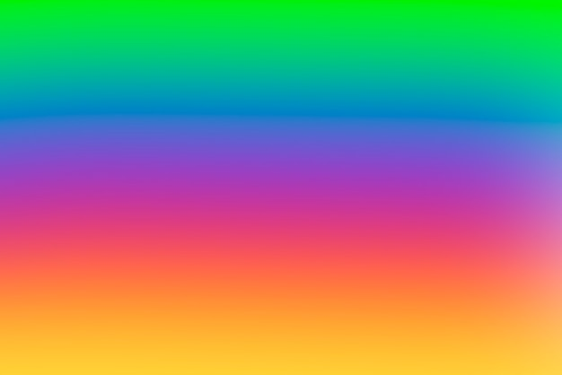 Blurred gradient abstract background with vivid primary colors Free Photo