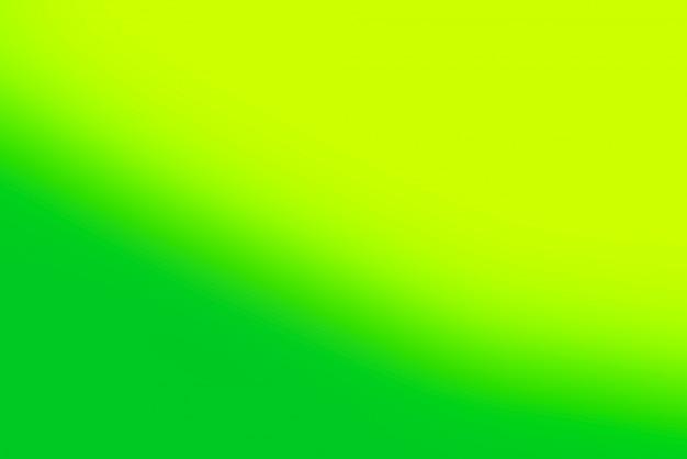 ぼやけたグラデーションの緑と黄色の背景 無料写真