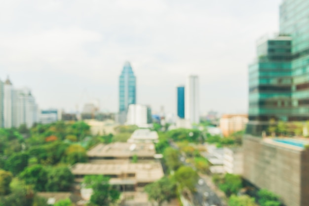 blurred industrial city backgrounds blur of bangkok city town with