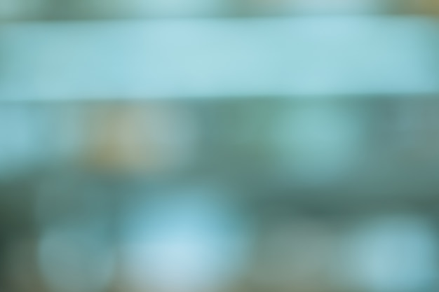 Blurred Of Outdoor Gradient Blue Tone Color Design For