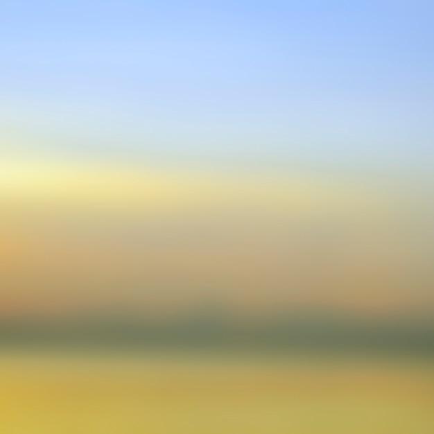 Blurred sunrise background, early morning light, the natural lighting phenomena. Premium Photo