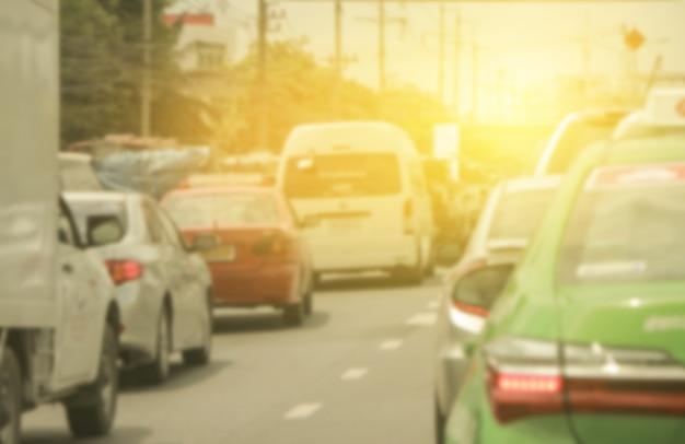 渋滞 Premium写真