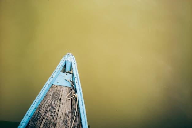 Boat in hoi an, vietnam Premium Photo