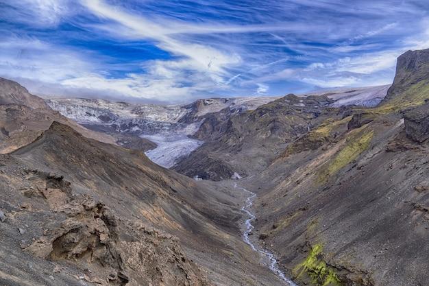 山の間の水域 無料写真