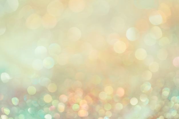Bokeh glitter colorfull blurred abstract background for anniversary Premium Photo