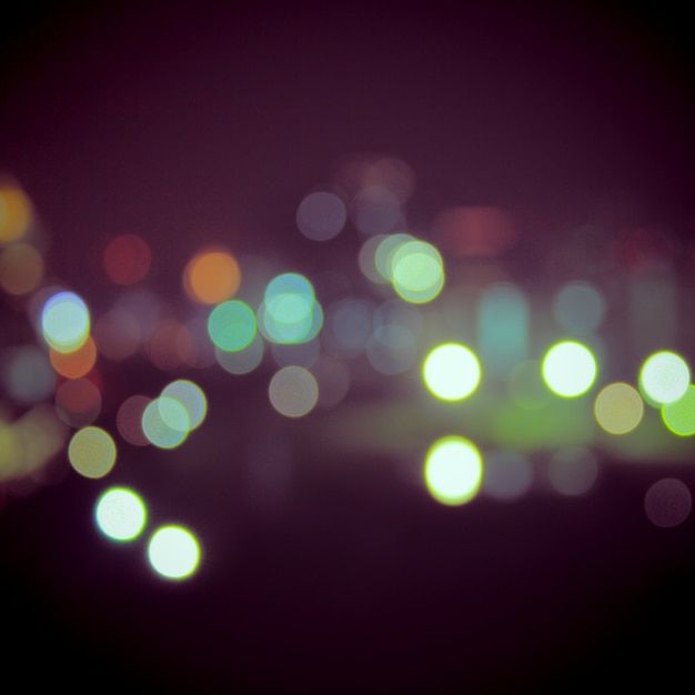 Bokeh light vintage background Free Photo