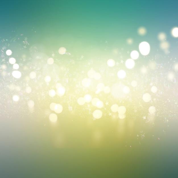 Bokeh lights background Free Photo
