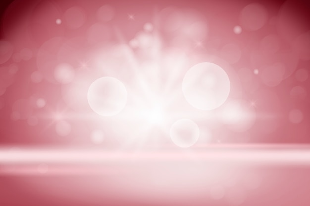 Bokeh lights product background Free Photo