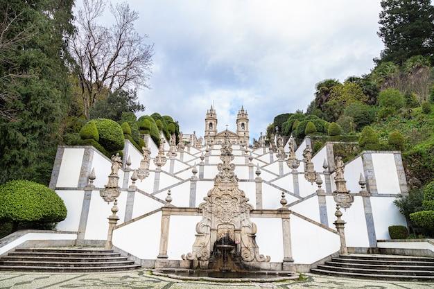 Bom jesus do monte in portugal, 08 november 2019 Premium Photo