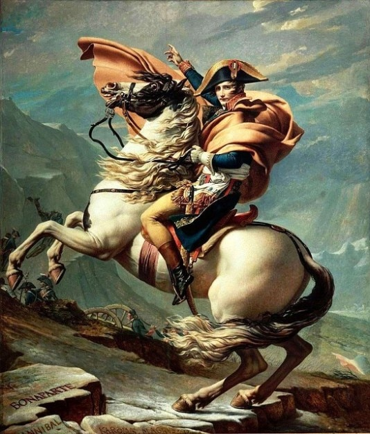 bonaparte reiter horse napoleon france emperor Free Photo