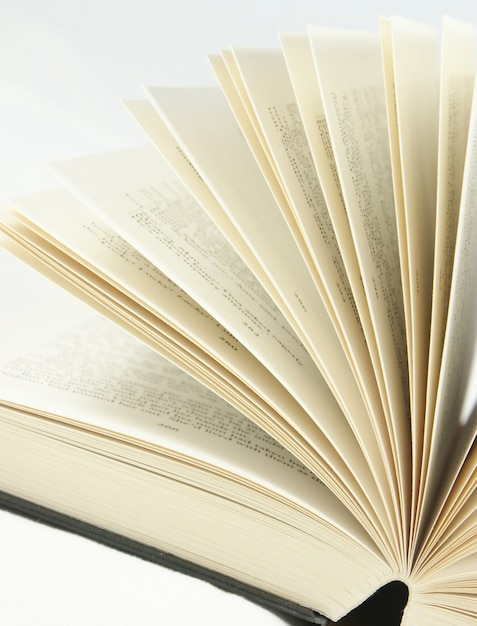 Primo colpo di pagine del libro tornitura Foto Gratuite