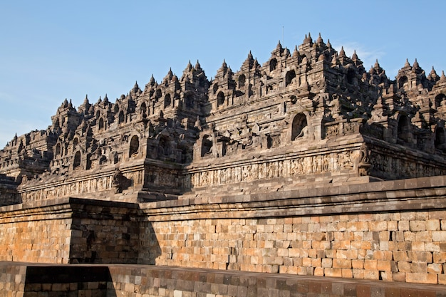 Borobudur temple indonesia Premium Photo
