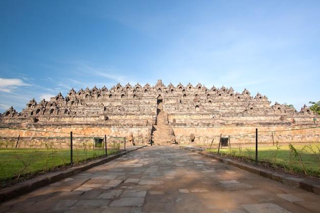 Borobudur temple indonesia Premium Photo