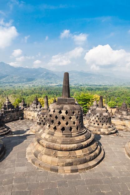 Borobudur temple Premium Photo