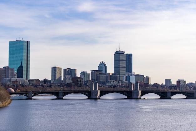 Boston downtown Premium Photo