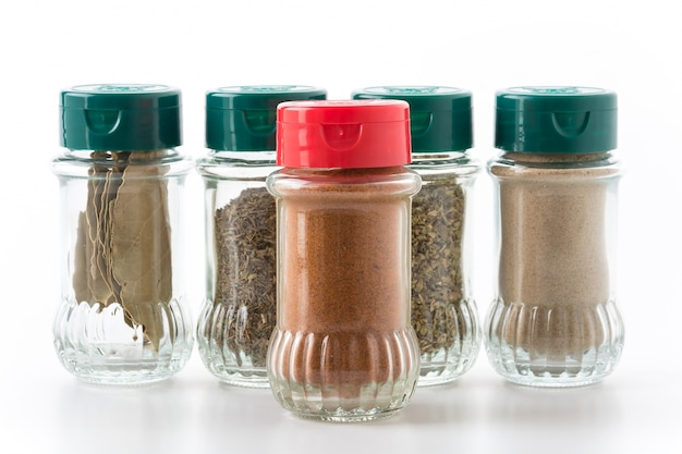 bottle of spices Free Photo