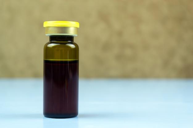Бутылка с медициной всемирный день борьбы с диабетом Premium Фотографии
