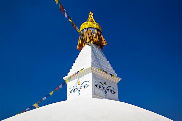 Boudhanath stupa Premium Photo