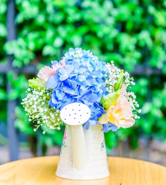 Bouquet flower hydrangea Free Photo