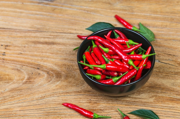A bowl of pepper Free Photo