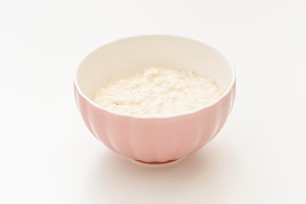 Чаша с йогуртом Premium Фотографии