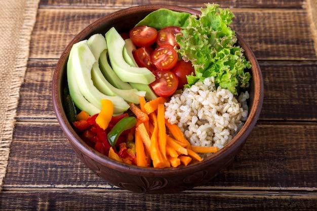 ビーガン仏bowl Premium写真