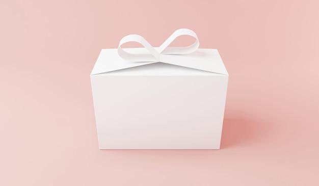 Box mockups design 3d render Premium Photo