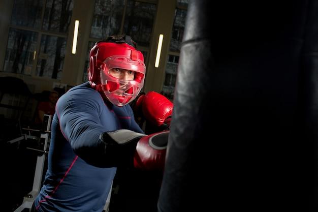 Boxing fight Free Photo