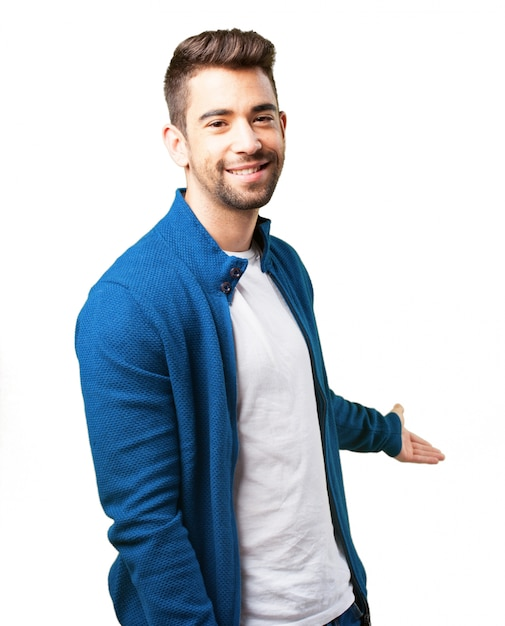 Boy in a blue jacket Photo | Free Download