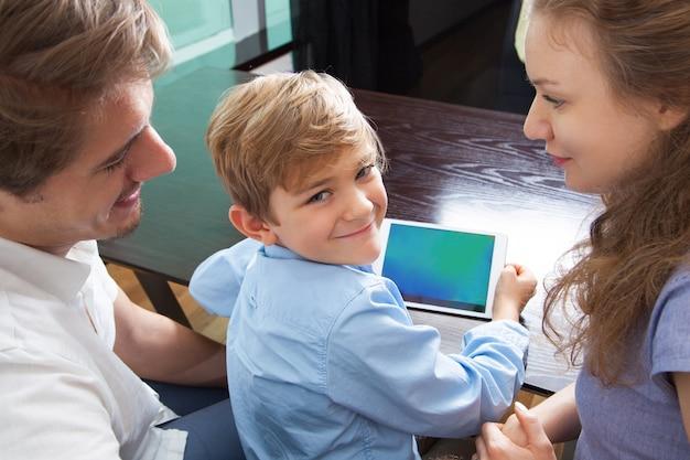 boy lifestyle desk device kid Free Photo