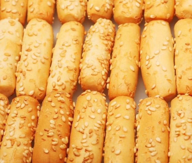 Bread wheat stick background Premium Photo