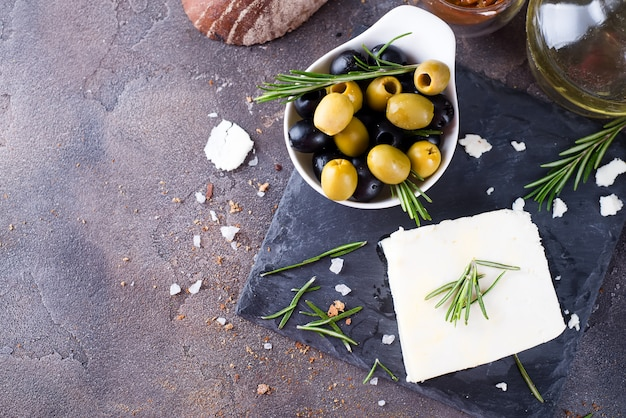 Breakfast with cheese Premium Photo