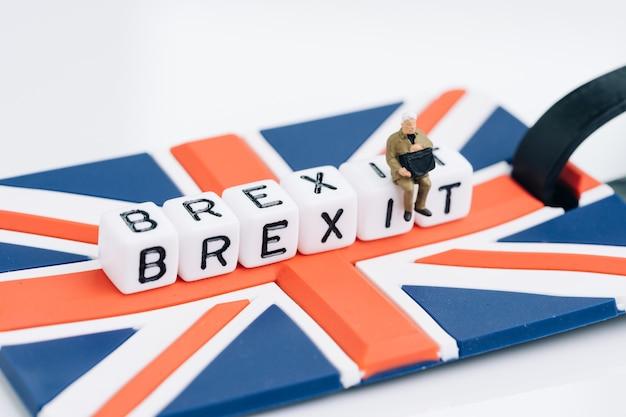 Brexit, великобритания покидает ес концепция европейского союза Premium Фотографии