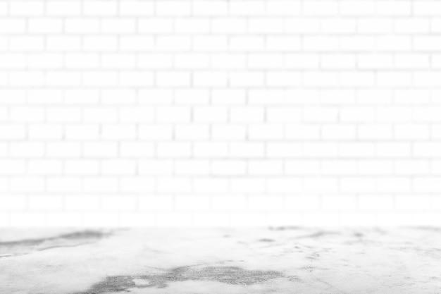 Brick wall painted white Free Photo